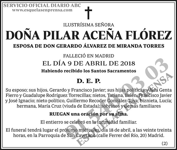Pilar Aceña Flórez